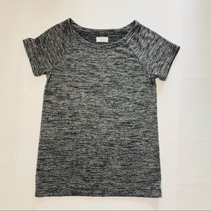 Lou Grey blouse Top Gray